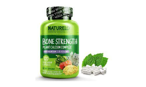 Naturelo Bone Strength Plant Calcium Complex