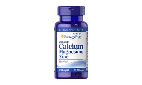 Puritans Pride Chelated Calcium Magnesium Zinc