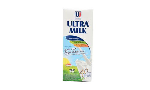 Ultra Milk Low Fat Hi Calcium