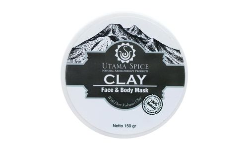 Utama Spice Clay Face Body Mask