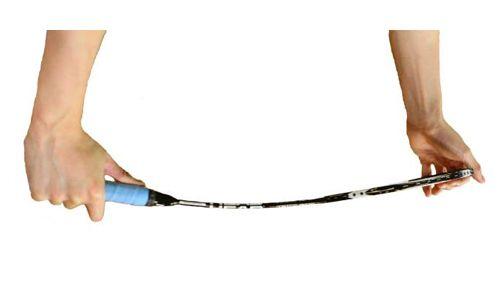 Cek Kelenturan Gagang atau Batang Raket Stiffness of Shaft