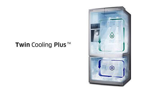 Fitur Twin Cooling Plus Untuk Menjaga Kesegaran Makanan Lebih Lama