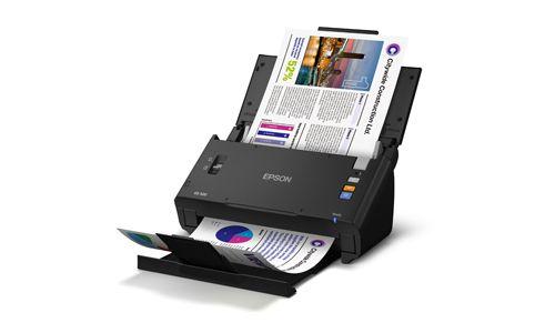Sheetfed Scanner Terdapat Fitur Automatic Document Feeder ADF untuk Memindai Lebih Banyak Dokumen Sekaligus