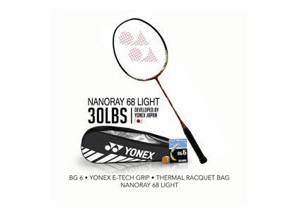 Yonex Bundling NanoRay 68 Light
