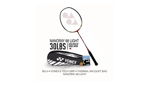Yonex Bundling NanoRay 68 Light