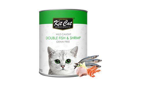 Kit Cat Double Fish Shrimp Wet Food