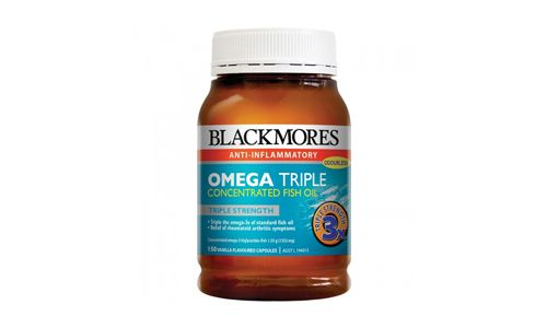 Blackmores Omega Triple Concentration Fish Oil