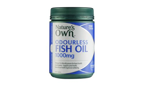 Natures Own Odourless Fish Oil 1000mg