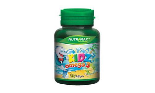 Nutrimax Kidz Omega 3 Minyak Ikan Salmon Multivitamin Suplemen