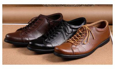 Boston Vardy Sepatu Pantofel Kulit Pria