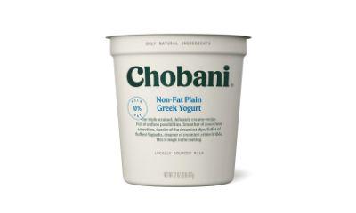 Chobani Non Fat Plain Greek Yogurt
