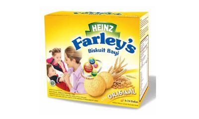 Heinz Farleys Biskuit Bayi Rasa Original 6 24m
