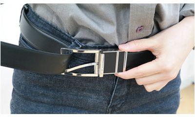 Periksa Ukuran Sabuk agar Pas dengan Lingkar Pinggang Setelah Memakai Celana