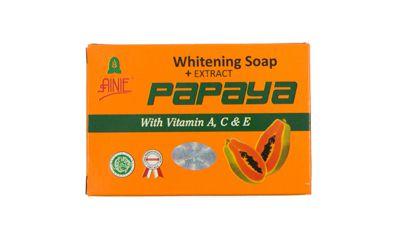 Ainie Brightening Soap Extract Papaya