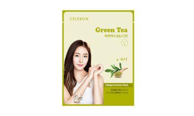 Celebon Collagen Essence Mask Green Tea