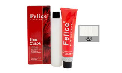 Felice Professional Hair Color White