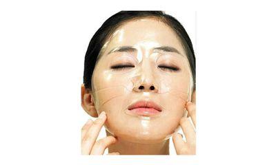 Hydrogel Sheet Mask Efek Gel Menjadikan Masker Berwarna Transparan