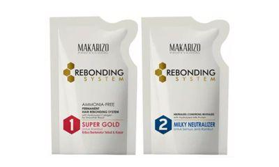 Makarizo Professional Rebonding System Kit Super Gold