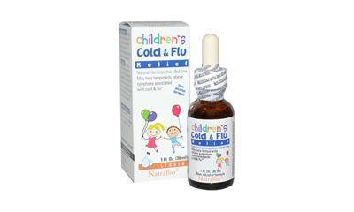 NatraBio Childrens Cold Flu Relief