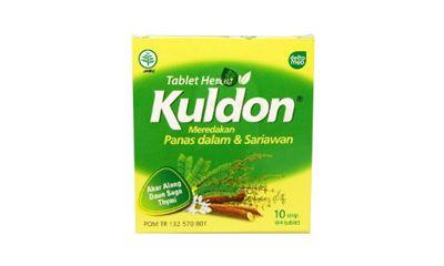 Tablet Herbal Kuldon Sariawan